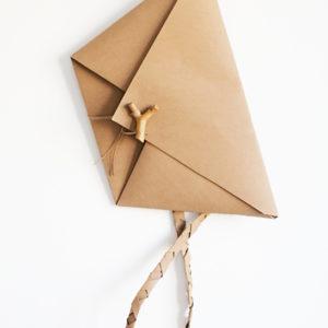 kopertówka Origami Love Letters