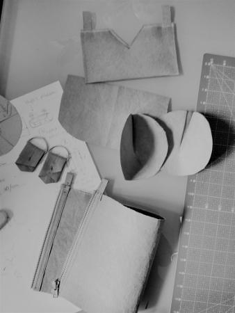 Moda zrównoważona w mojej pracowni - Torby i akcesoria, naturalnie. Len, papier, upcycling.
