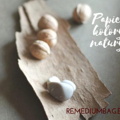 naturalne kolory papieru do szycia