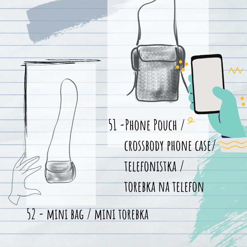 torebka na telefon i mini torebeczka