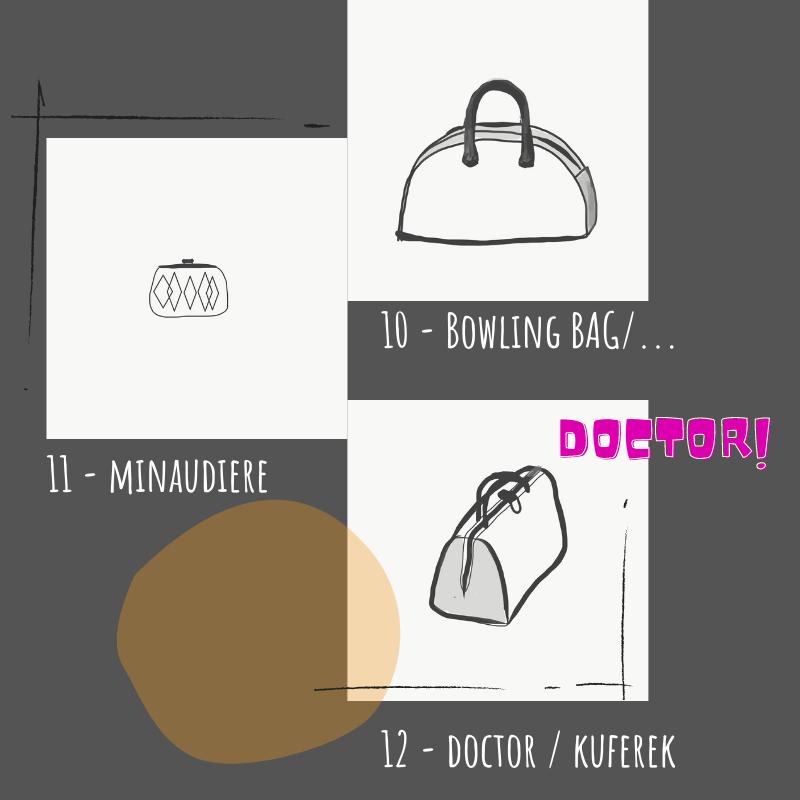 Rodzaje torebek damskich - przewodnik - Torby i akcesoria, naturalnie. Len, papier, upcycling.