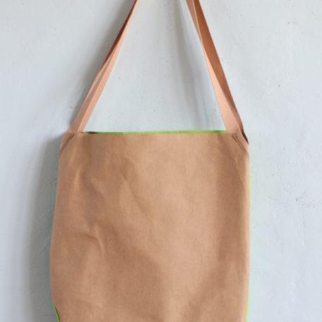 torba z papieru orzech i zielona