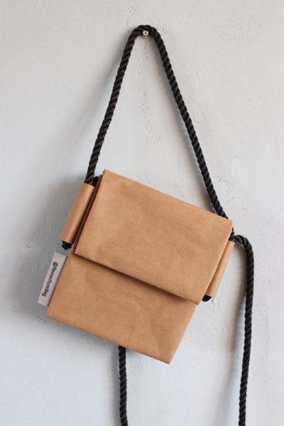 torebka podwójna orzechowa