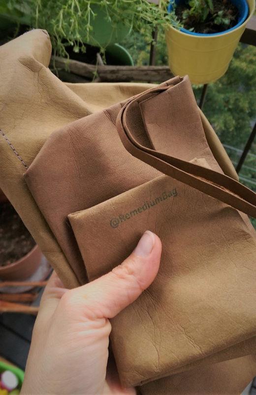 Papier do szycia -instrukcja obsługi - Torby i akcesoria, naturalnie. Len, papier, upcycling.