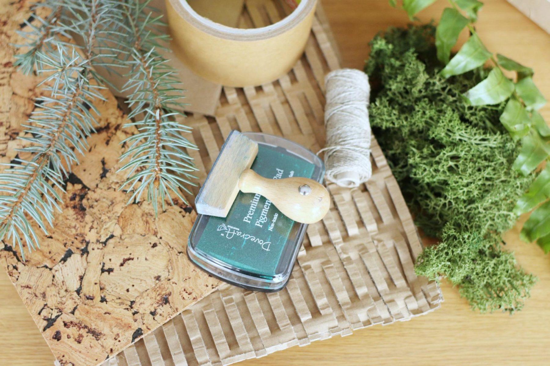 ekologiczne pakowanie paczek i przesyłek