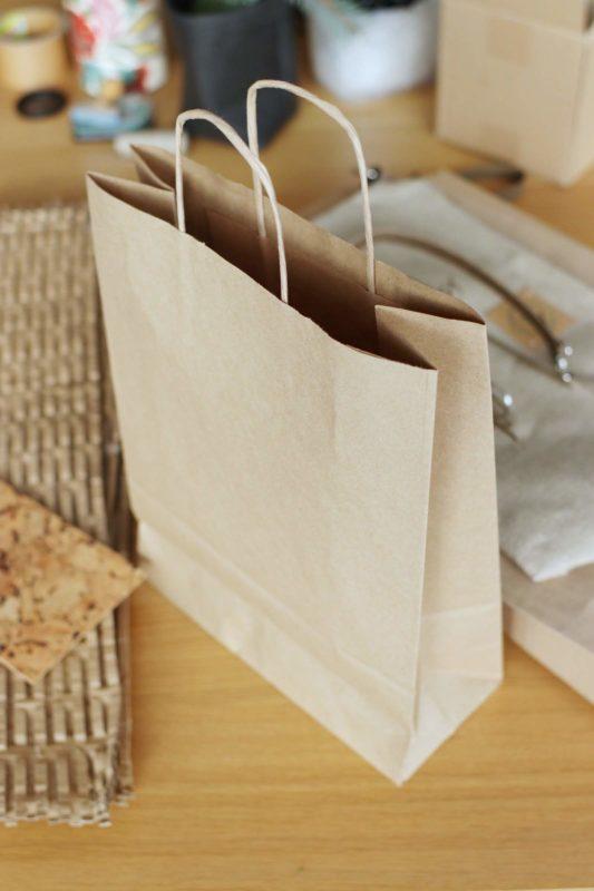 ekologiczna torebka papierowa do pakowania