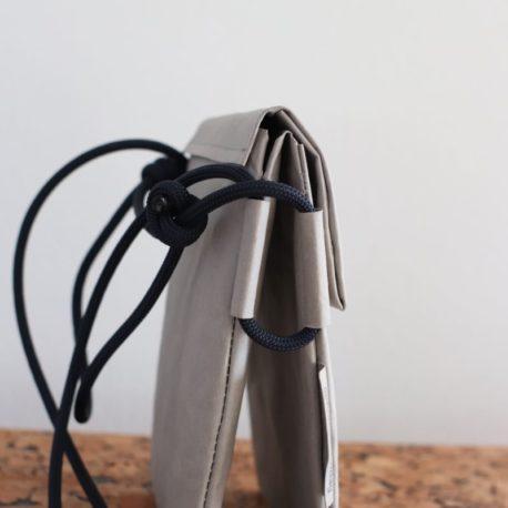 torebka szara lina granat 4