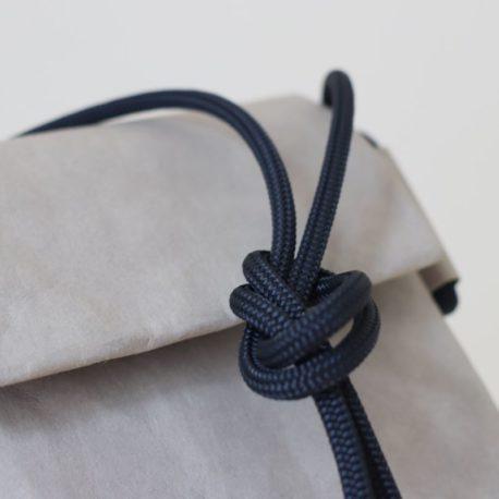 torebka szara lina granat 8